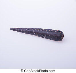 carrot or black carrot on a background - carrot or black...