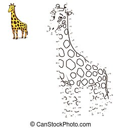 Connect the dots to draw animal - Connect the dots to draw...