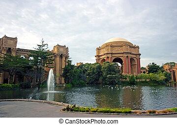Presidio park in San Francisco, California, USA
