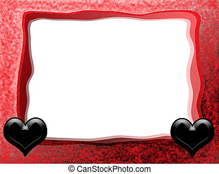 Gothic Hearts Frame