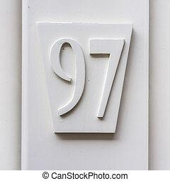 數字,  97