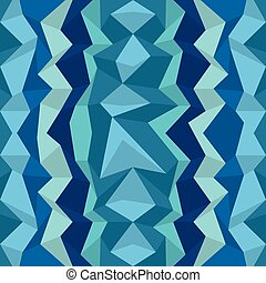 Polygonal blue pattern Zigzag vector background, wall paper...