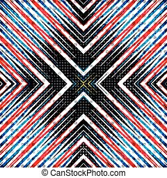 color lines. geometric abstract background. vector illustration. grunge effect