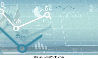 Business infographics - Abstract infographics animation of...