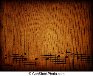 Abstract grunge melody textures and backgrounds