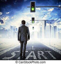 Walking to success