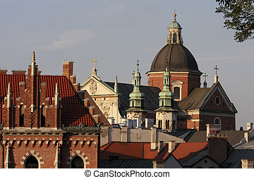 Cracow - St Peter and St Pauls church in Cracow, Poland