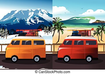 Travel in Van