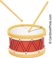 Drum. Music instrument