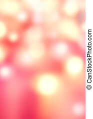 Abstract De focused Background with Blurred Bokeh texture and festive red and golden lights