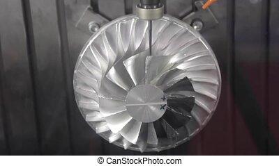 Turbine Milling - Milling Turbine Blades Machining Process