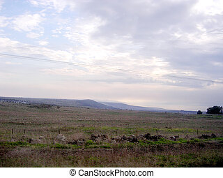 Ramat Hagolan soon evening 2006 - Soon evening on the Ramat...
