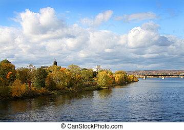 Brunswick, új, kanada,  Fredericton