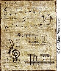 backround, musik
