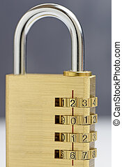 New Year Padlock 2016 - closed - A combination padlock...