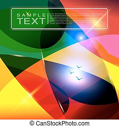 Bright abstract background.