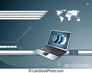 laptop background
