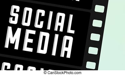 Social media icons - Social Media, Video animation, HD 1080