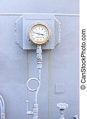 Meter pressure
