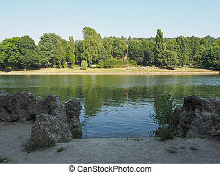River Po in Turin - Fiume Po meaning River Po in Turin,...