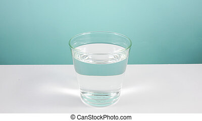 The glass of pure water (2) - The glass of pure water on...