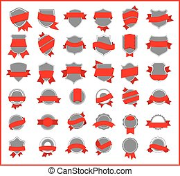 red stickers (set 2)