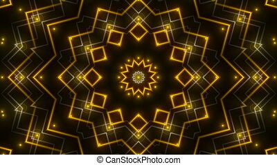 gold abstract background, loop