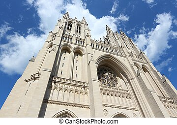 Washington cathedral - Washington DC, capital city of the...