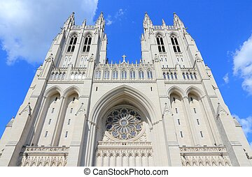 National Cathedral - Washington DC, capital city of the...