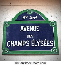 Champs Elysees, Paris - Paris, France - Champs Elysees...