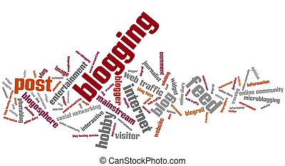 Blogging,