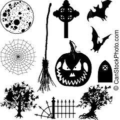 Icons Halloween Set