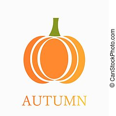 Pumpkin illustration - Autumn pumpkin Vector illustration