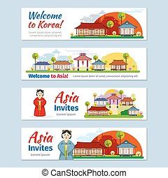 Vector of Japan travel design template csp15971987 - Search Clip ...