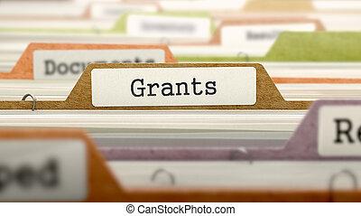 Grants - Folder Name in Directory. - Grants - Folder...
