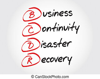 Business Continuity Disaster Recovery - BCDR - Business...