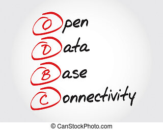Open Database Connectivity - ODBC Open Database...