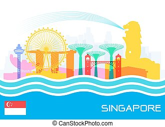 Singapore Travel Landmarks - Beautiful Singapore Travel...