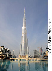 Highest Skyscraper in the World - Burj Dubai Burj Khalifa,...
