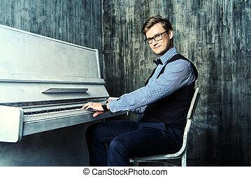 pianista, Música,