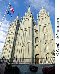 Temple of The Church of Jesus Christ of Latter-day Saints in...