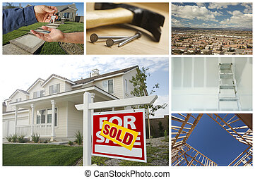 Construction and Real Estate Collage - Construction and Real...