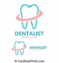 Vector dental care logo