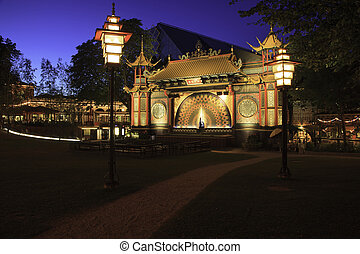Tivoli Blue Hour