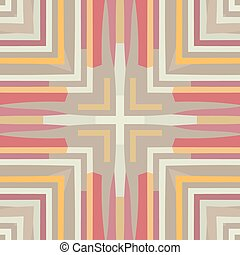 Abstract colorful background - Flat ethnic seamless pattern...