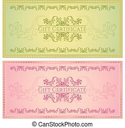 Gift Certificate, Coucher, Coupon - Gift certificate,...