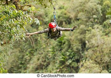 Zip Line Experience - Zip Line Adventure In Ecuadorian...