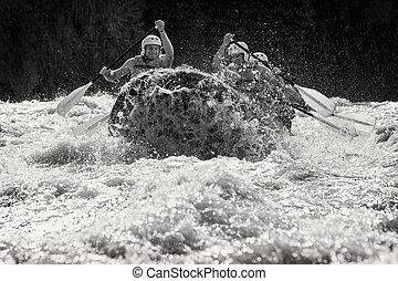 Whitewater River Rafting - Whitewater Rafting Key Moment...