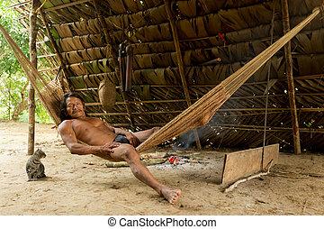 Waorani Indigenous Life Style - Amazonian Indigenous...