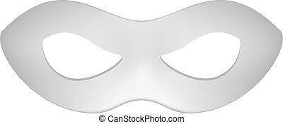 Eye mask in grey design